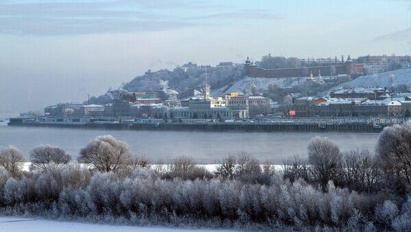 Морозы в Нижнем Новгороде