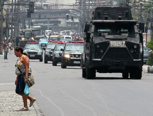 Полицейская операция в Рио-де-Жанейро