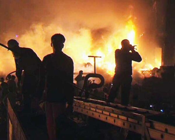 Крушение Ил-76 в Пакистане. Видео с места авиакатастрофы