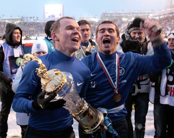 Александр Анюков и Александр Кержаков