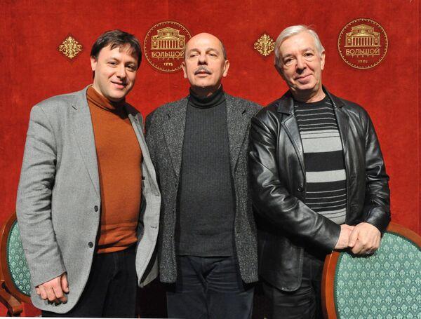 Пресс-конференция, посвященная премьере оперы Вишневый сад в Большом театре