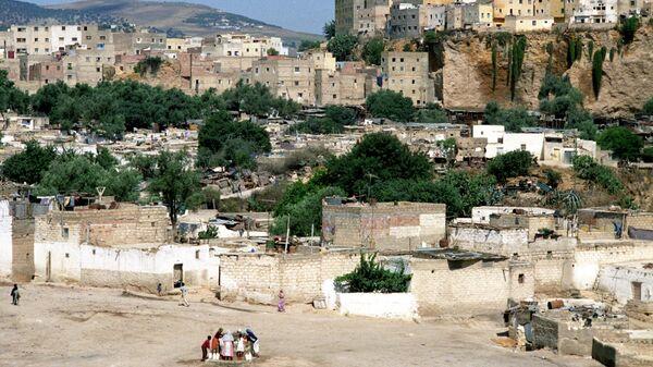 Вид на город Фес