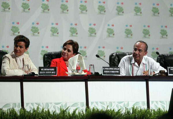 Климатический саммит в Канкуне