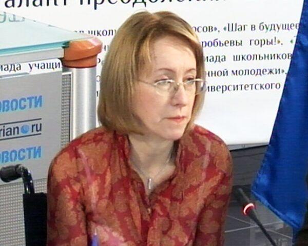 В российском обществе не созданы условия для инвалидов – Ирина Ясина