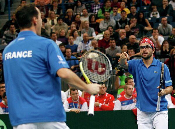 Теннисисты сборной Франции