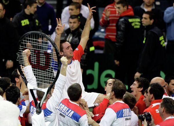 Сербские теннисисты