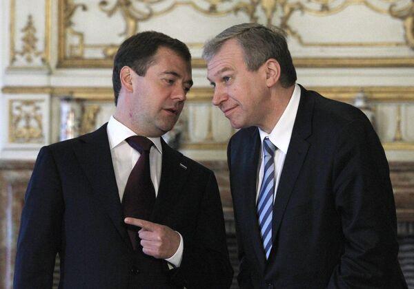 Подписание совместных документов по итогам российско-бельгийских переговоров