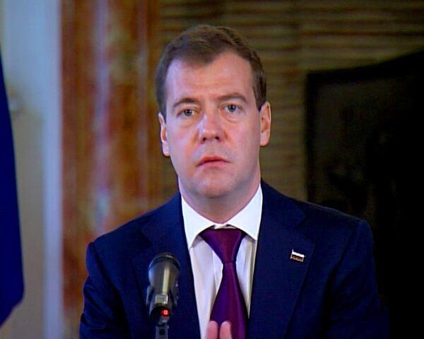 Медведев в Брюсселе вспомнил проигранный Бельгии футбольный матч