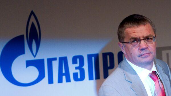 Генеральный директор ООО Газпром экспорт Александр Медведев. Архив