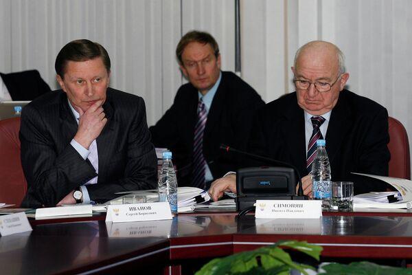 Сергей Иванов и Никита Симонян