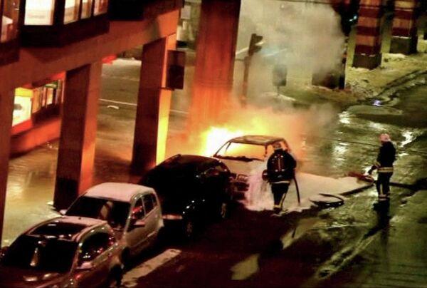Взрыв автомобиля в Стокгольме 11 декабря 2010 г