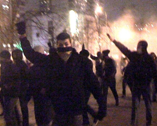 Около ста фанатов пытались устроить беспорядки в Сокольниках