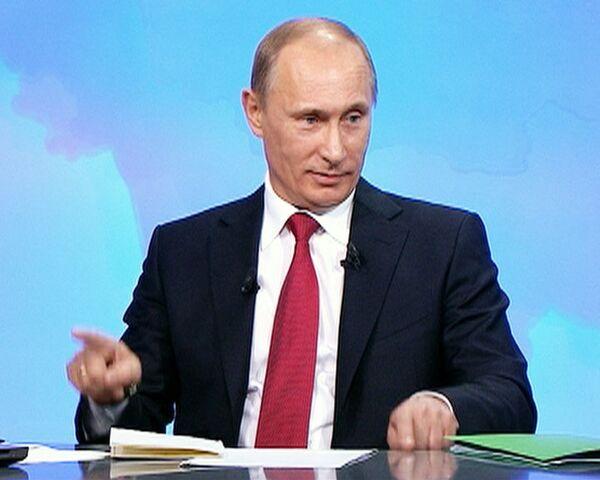 Путин признался, что тыкать по клавишам его научил приятель