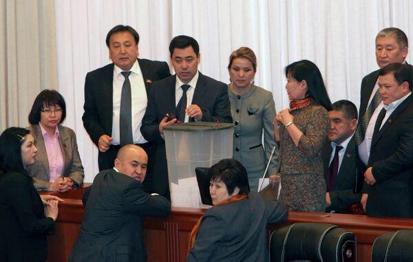 Парламент Киргизии утвердил состав нового правительства
