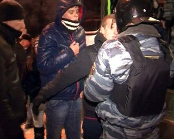 Милиция предотвратила беспорядки возле телецентра Останкино