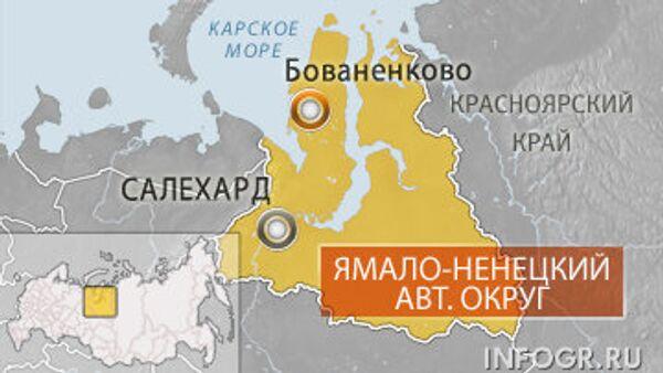 Катастрофа вертолета Ми-8 на Ямале
