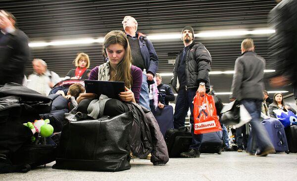 Задержки рейсов в аэропорту Франкфурта