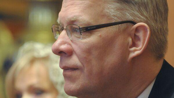 Президент Латвии Валдис Затлерс. Архив