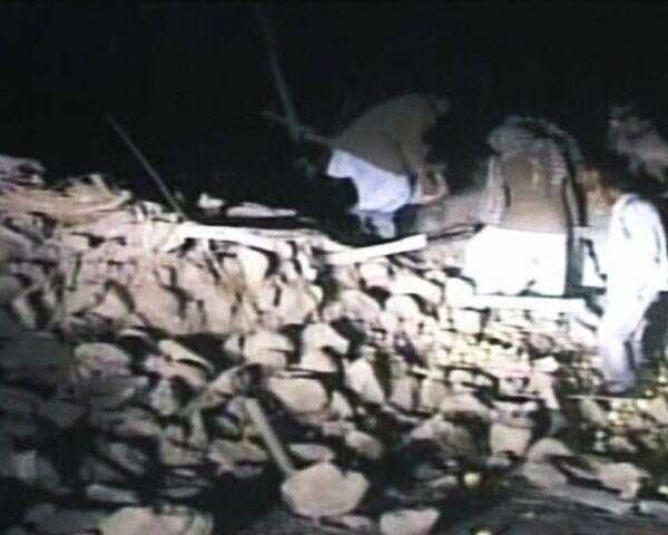 Три населенных пункта разрушено во время землетрясения в Иране