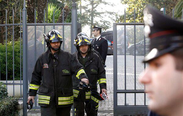 Взрыв у здания посольства Швейцарии в Риме