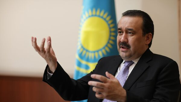 Премьер-министр Республики Казахстан Карим Масимов. Архив