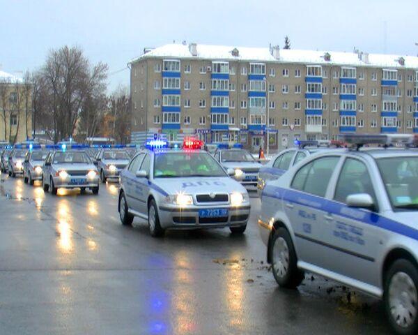 Башкирские милиционеры провели предновогодние сборы в Уфе