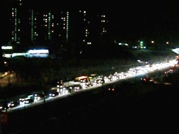 Отключение освещения в Бирюлево