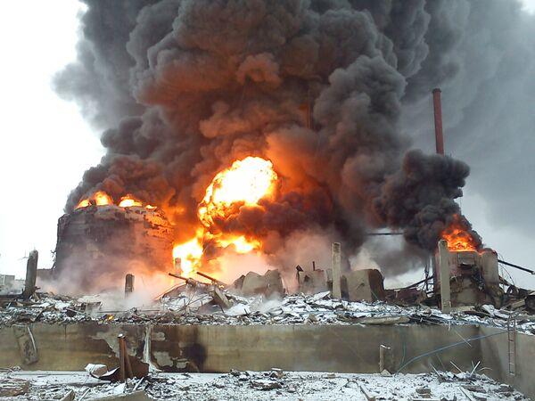 На нефтеперерабатывающем заводе в Забайкалье произошел взрыв
