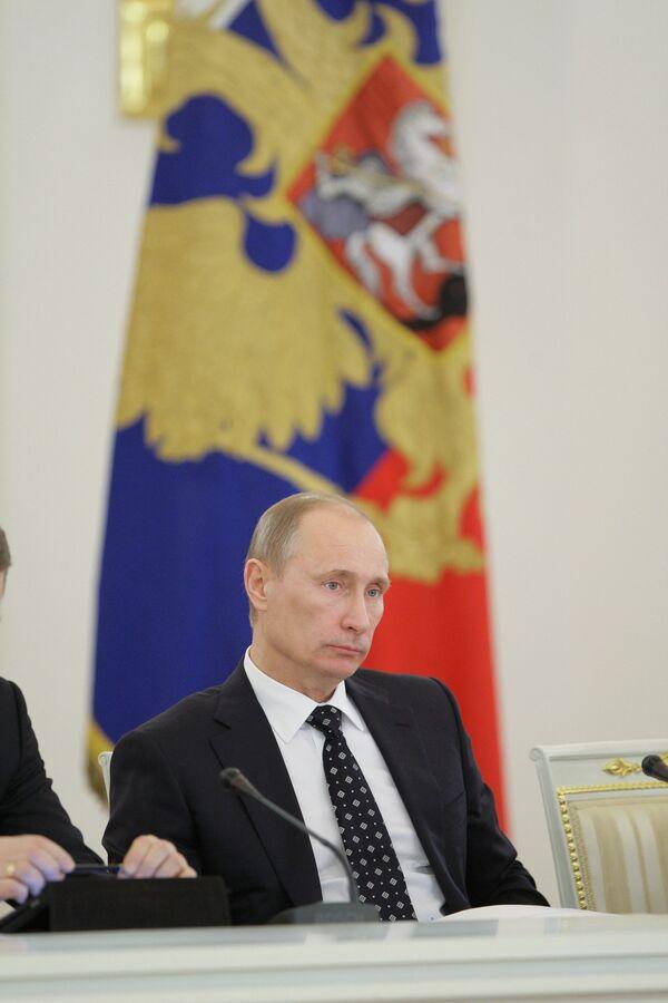 Премьер-министр РФ принял участие в заседании Госсовета