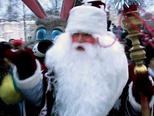 Дед Мороз в Вологде