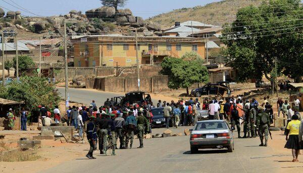 Межрелигиозные столкновения в городе Джос в центральной части Нигерии