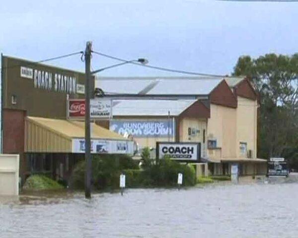 Мощное наводнение затопило австралийский штат Квинсленд