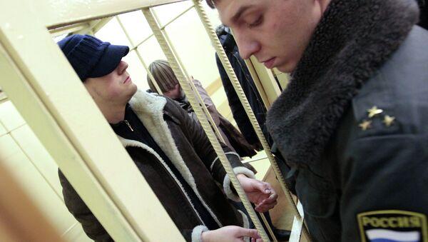 Задержанные по уголовному делу об избиении эколога Константина Фетисова Вячеслав Ковалев и Андрей Чернышов. Архив