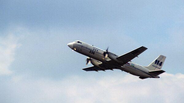 Самолет ИЛ-114Т