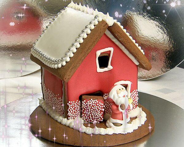 Пряничный домик к Рождеству. Видеорецепт