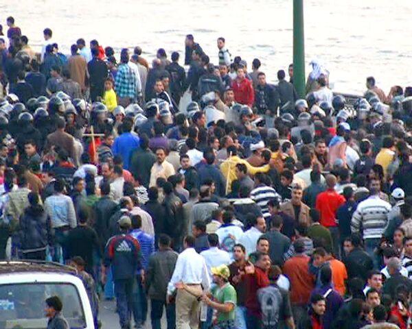 Массовые демонстрации христиан прошли в Египте после взрыва церкви