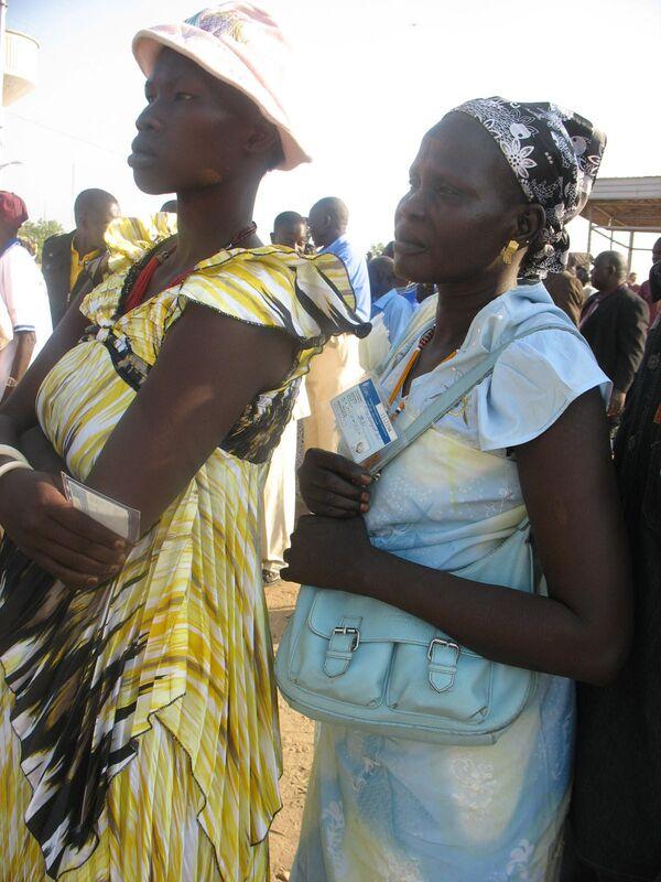 Жители Южного Судана. Архивное фото