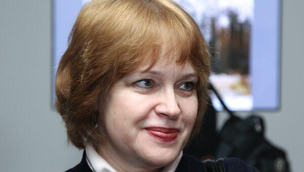 Директор Третьяковской галереи Ирина Лебедева