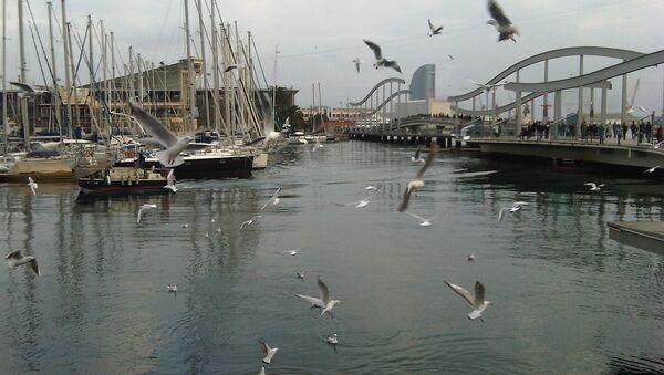 Порт Барселоны. Архивное фото