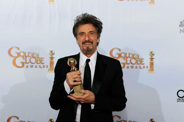 Актер Аль Пачино удостоен Золотого глобуса за роль в социальной драме Вы не знаете Джека