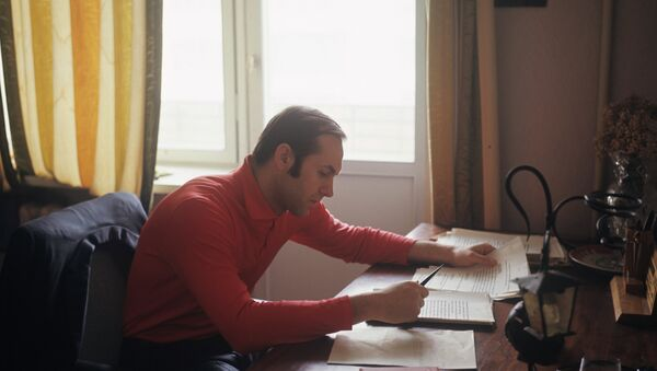 Легкоатлет Валерий Брумель. Архивное фото