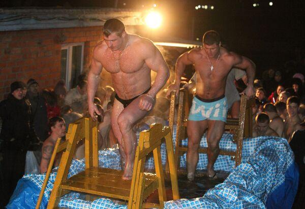 Крещенские купания во Владивостоке