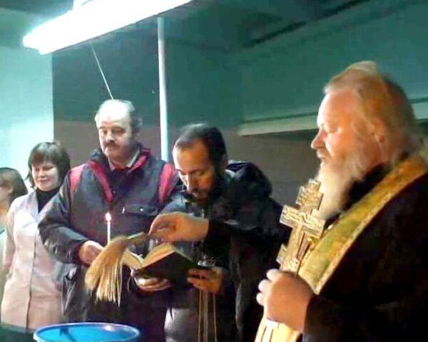 Освещение воды в Ангарске