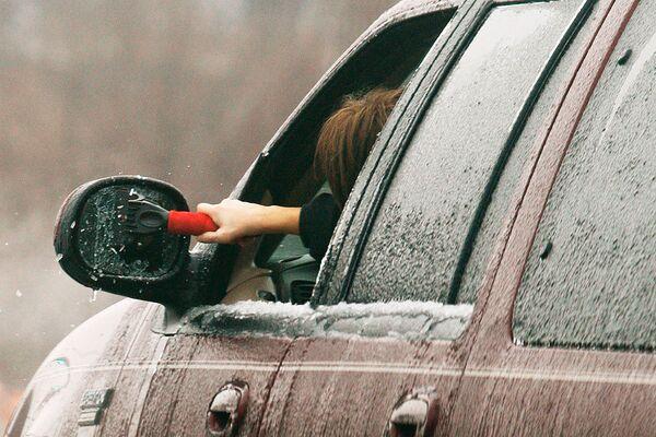 Ледяной дождь в США
