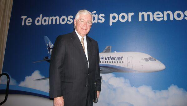 Генеральный директор Interjet Хосе Луис Гарса. Архивное фото