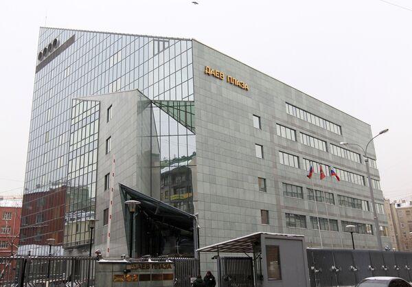 Офисный комплекс Даев плаза в Москве. Архив
