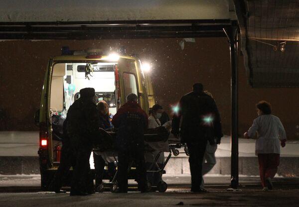 Пострадавший при взрыве в аэропорту Домодедово доставлен в московскую больницу