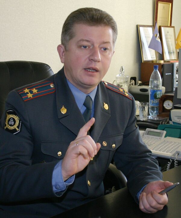 Глава ГИБДД Москвы Александр Ильин. Архив