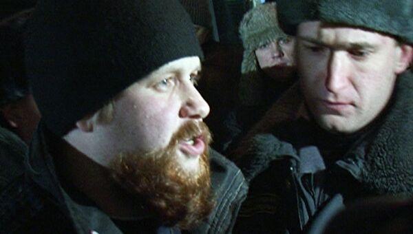 Милиция задержала лидера националистов прямо во время интервью