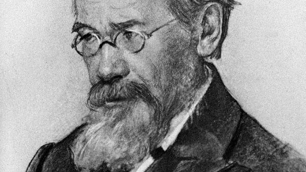 Портрет русского историка Ключевского